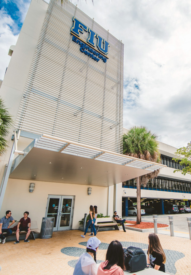 External Image of Engineering Center at FIU